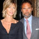 AA Gill and his partner Nicola Formby