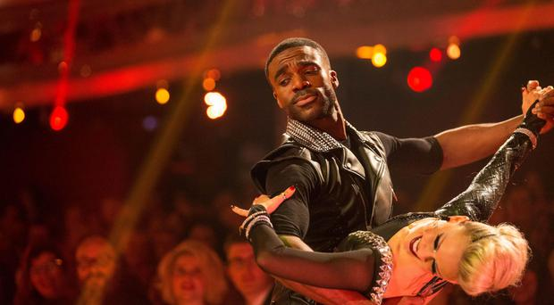 Ore Oduba and his partner Joanne Clifton hit the top of the leaderboard in the penultimate week of Strictly Come Dancing.