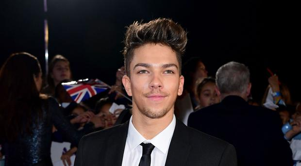 Matt Terry is aiming for the Christmas number one spot with his debut single When Christmas Comes Around