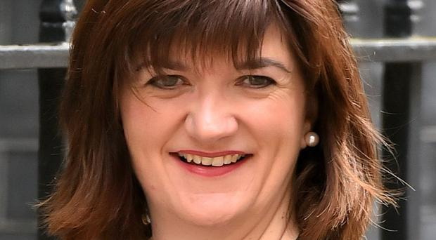 Nicky Morgan will no longer appear on the satirical panel show on Friday