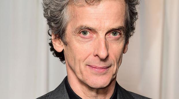 Peter Capaldi stars as the Doctor in the hit BBC series