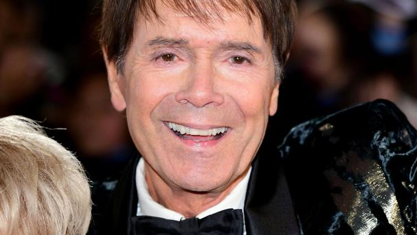 Sir Cliff Richard shared his festive dream on the red carpet of the London Palladium on the press night of Cinderella
