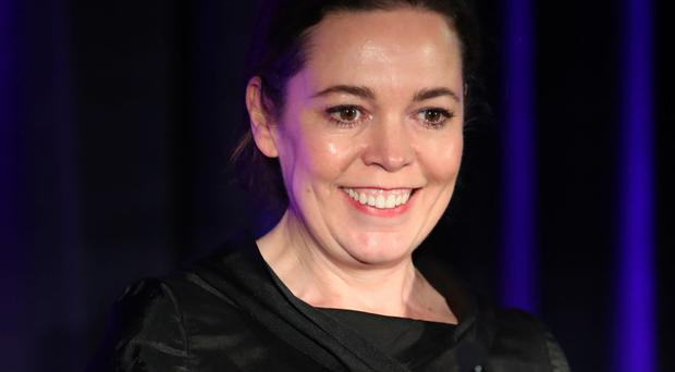 Olivia Colman performs during the Letters Live event at HMP Brixton, London