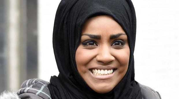Nadiya Hussain says a man told her he would not sit next to her because she was a Muslim
