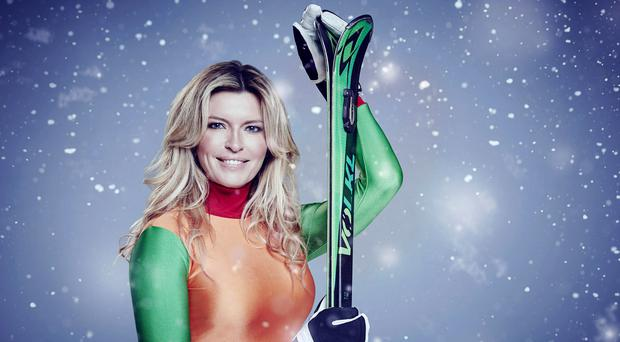 Actor Tina Hobley suffered a series of injuries while taking part in reality TV show The Jump