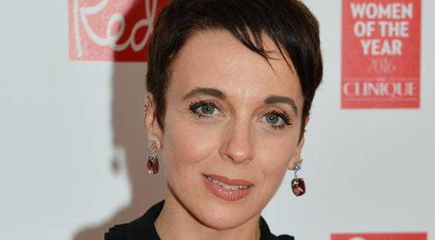 Sherlock star Amanda Abbington didn't enjoy working with her canine co-star