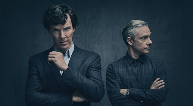 Benedict Cumberbatch and Martin Freeman return in the next series of the BBC1 show over the new year
