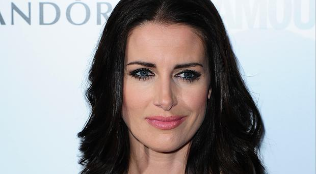 Kirsty Gallacher had to be rushed to hospital