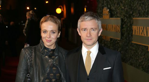 Amanda Abbington and Martin Freeman are reported to have split