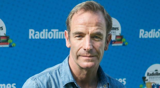Robson Green said it was a pleasure to be working on Grantchester