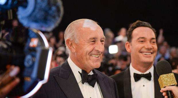 Len Goodman (left) is quitting the judging panel