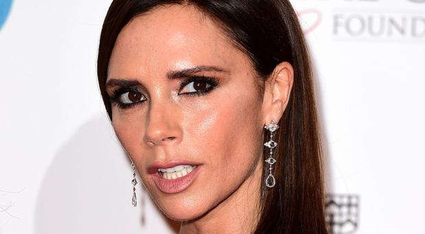 Victoria Beckham claimed the Designer Brand of the Year title in 2011