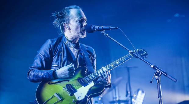 The Thom Yorke-fronted band will also headline Glastonbury