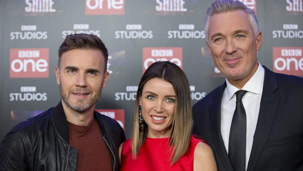 Gary Barlow, Dannii Minogue and Martin Kemp are the judges on Let it Shine
