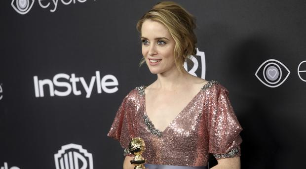 Claire Foy won a Golden Globe for her role in The Crown (Invision/AP/PA))