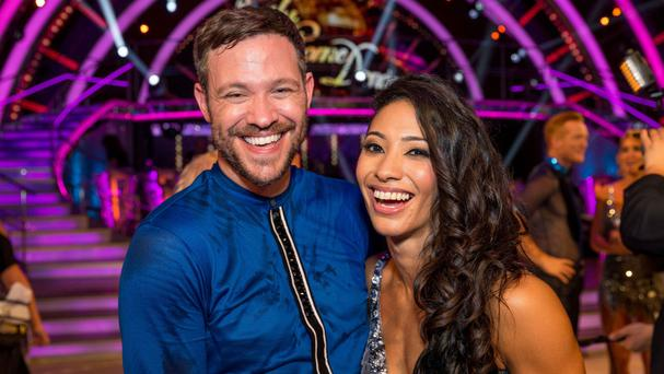 Karen Clifton was matched with Will Young in the latest series of the BBC1 contest (BBC/PA)