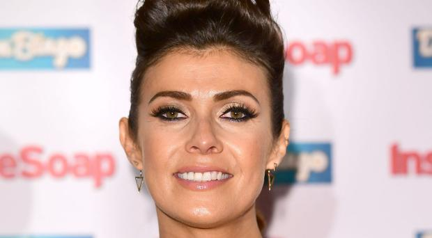 Coronation Street actress Kym Marsh has said recreating a stillbirth on screen was the