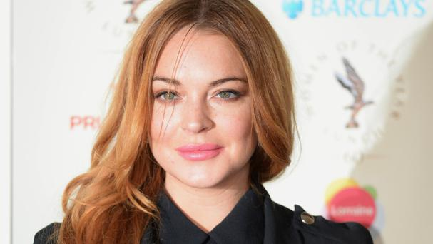 Lindsay Lohan had been asked to switch on Kettering's Christmas lights