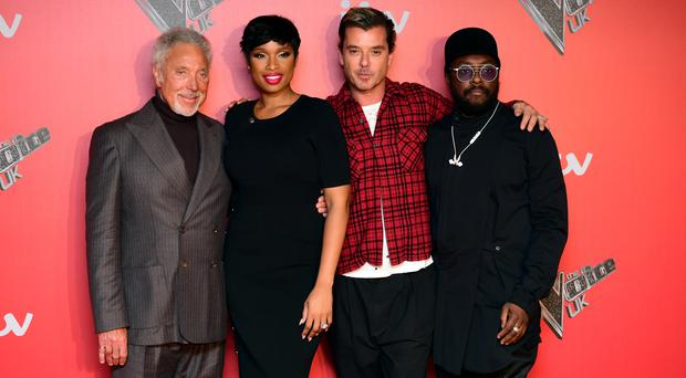 Voice UK coaches Sir Tom Jones, Jennifer Hudson, Gavin Rossdale and will.i.am