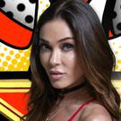 Jasmine Waltz entering the Celebrity Big Brother house - she has now waved goodbye.