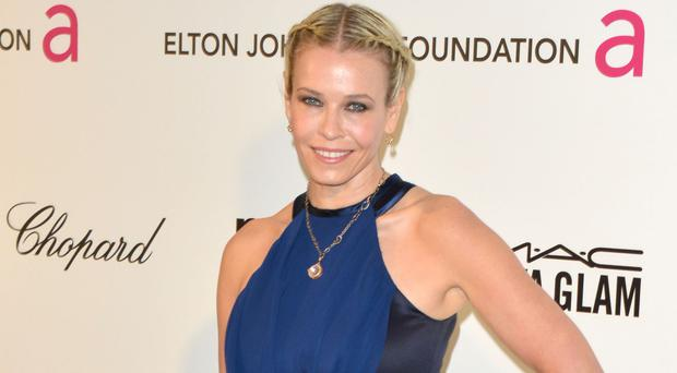 US TV presenter Chelsea Handler wrote in The Hollywood Reporter that 'women are under a right-wing political assault'