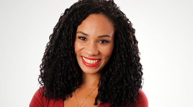Michelle Ackerley said she was relieved to immediately hit it off with Matt Baker, who has anchored the show since 2011 (BBC/PA)