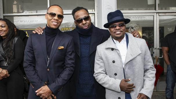 Who Is Manager Gary Evans In 'New Edition: The Movie' on BET?