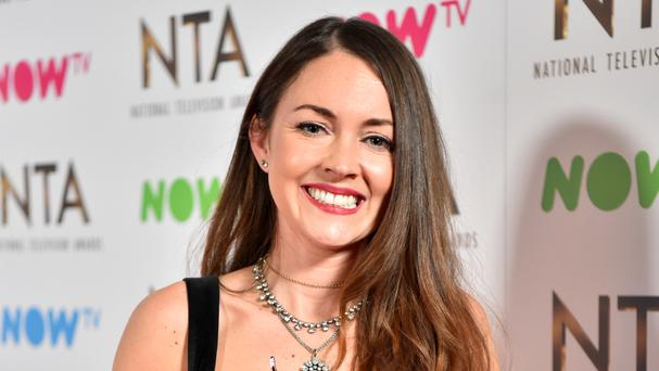 Lacey Turner won a prize at the National Television Awards