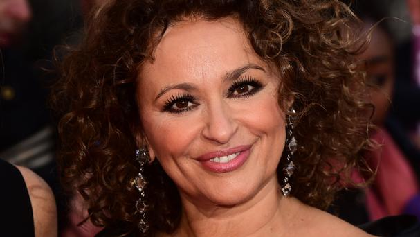 Loose Women star Nadia Sawalha has been caught appearing to swear on camera after rival show This Morning won a gong