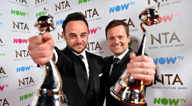 TV presenters Ant and Dec will bag their fourth gong of the week today - when they receive OBEs at Buckingham Palace
