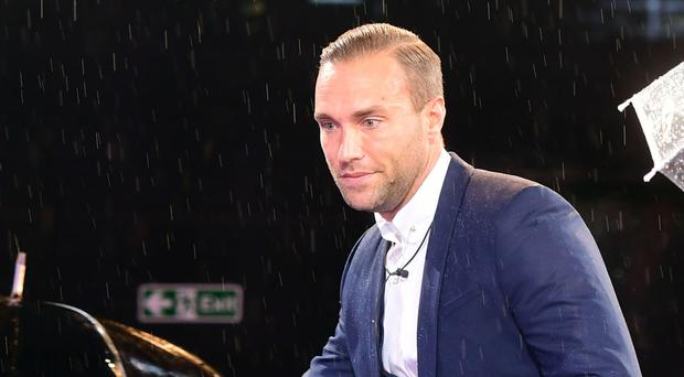 Calum Best leaves the Celebrity Big Brother House