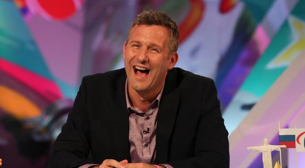 Adam Hills on his TV show The Last Leg