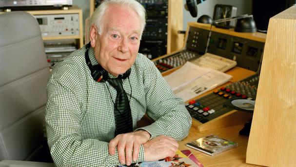 Radio 2 stalwart Desmond Carrington (BBC/PA)