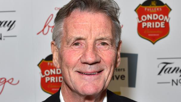 Michael Palin was given the lifetime prize for his