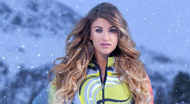 Model Amy Willerton replaced Vogue Williams on Channel 4 reality show The Jump (Channel 4/PA)