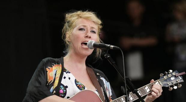 Martha Wainwright performed at Celtic Connections