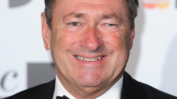 Alan Titchmarsh is about to be seen on-screen