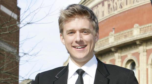 Jonathan Ansell was punched in the face by the mugger
