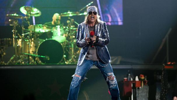 Guns N' Roses are on their global tour, Not In This Lifetime