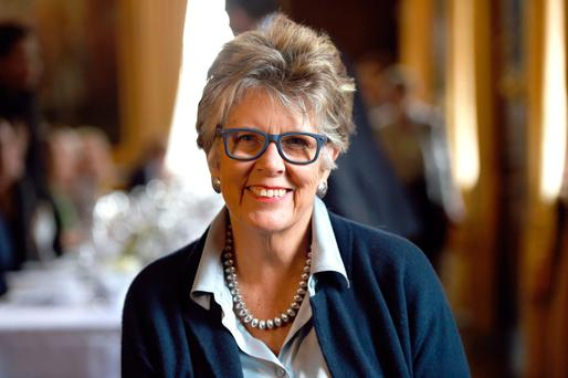 Cookery royalty: Prue Leith