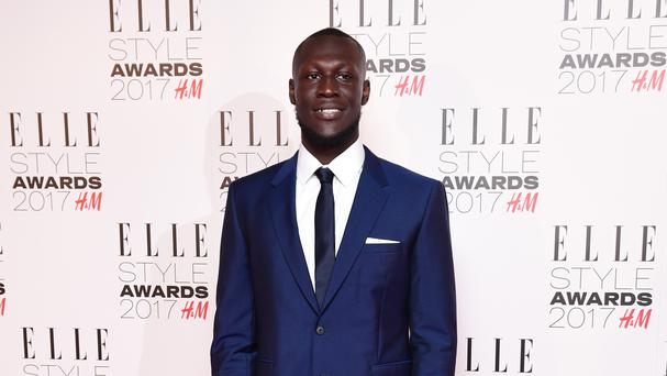 Stormzy has said police breaking down the door to his house was like a scene from a film