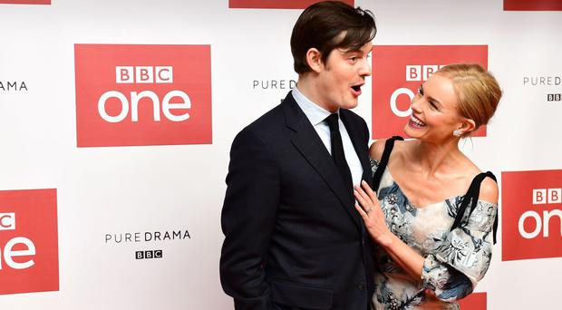 Sam Riley and Kate Bosworth star in the new BBC drama SS-GB