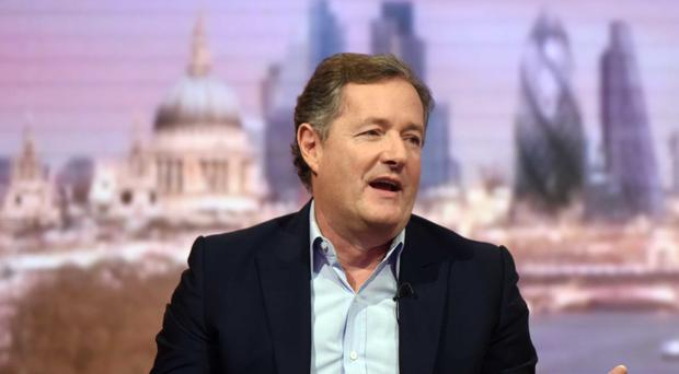 Piers Morgan has pulled out of hosting the awards