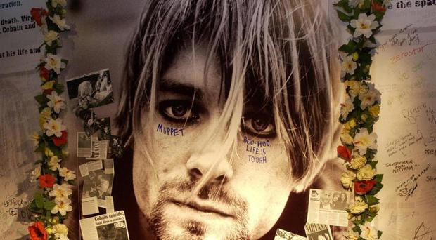 Cobain would have turned 50 on Monday
