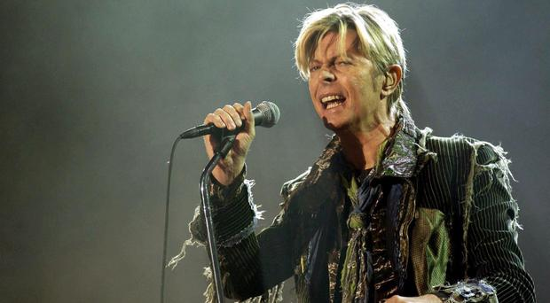 David Bowie is favourite for the British male solo artist award