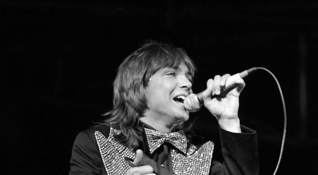 David Cassidy pictured during his heyday