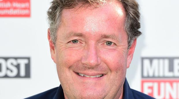It is not the first time Piers Morgan has sworn on the show