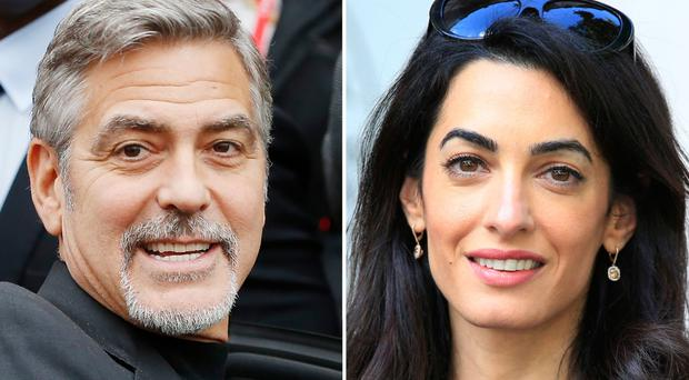 Clooney and Amal's twins are due in June