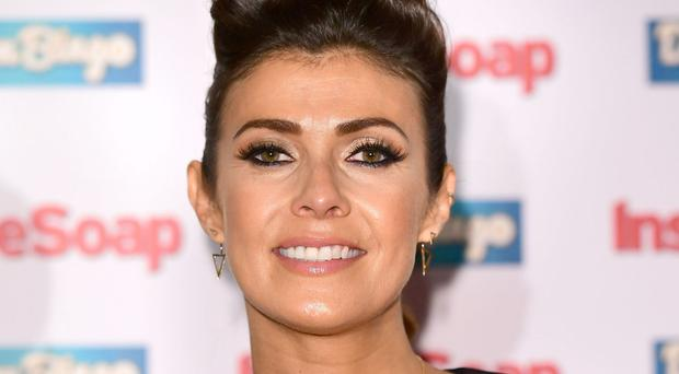 Kym Marsh said she hoped the stillbirth storyline would encourage others who have been through the trauma to talk about it
