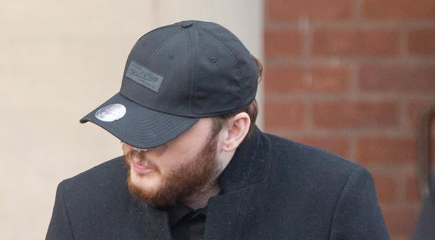 James Arthur pictured after giving evidence in the trial of Christopher Revell